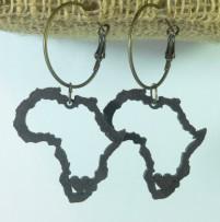 Africa Earring Ebony