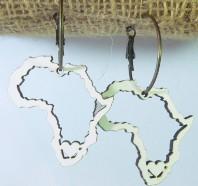 Africa Earring White