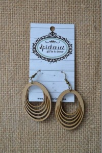 Natural Loop Earrings (009NALO)